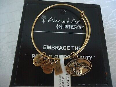 A11EB123ERG Alex and Ani Fascinate Me With Love Expandable Wire Bangle