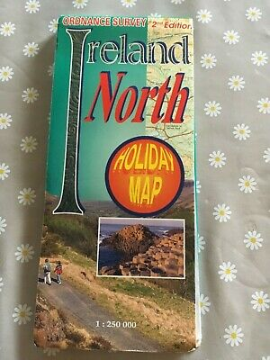 Ordnance Survey Map 2nd Edition Ireland North Holiday Map 1 : 250 000
