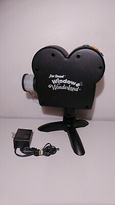 Star Shower Window Wonderland Movie Projector AS SEEN ON TV Christmas/Halloween