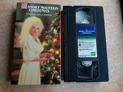 A Smoky Mountain Christmas (VHS, 1992) Dolly Parton