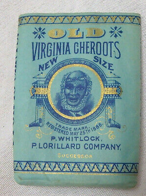 Old Virginia Cheroots paper cigar wrapper tobacco Whitlock Lorillard