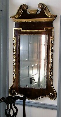 Arcitechtural / Constitution Mirror  18th /19th century, mahogany