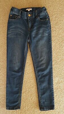 Girls Jeans | Age 8 | Blue Zoo Girls Jeans | Good Condition | Adjustable Waist