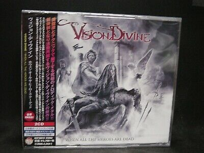 VISION DIVINE When All The Heroes Are Dead + 1 JAPAN 2CD Labyrinth Rhapsody