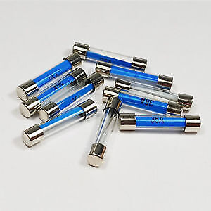 Glass Fuse Old Style Classic Car Van Mpv Home Fuses 12V 15Amp X5 Quick Blow 250V