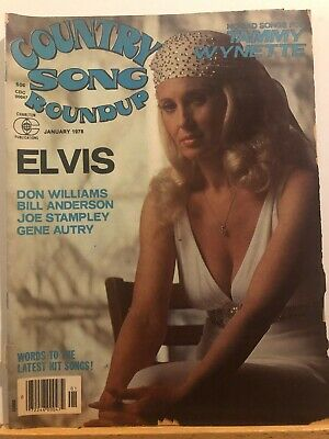 Country Song Roundup Magazine January 1978..Elvis..gene Autry More