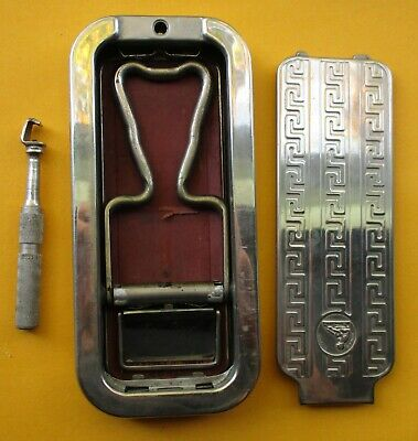 Vintage Rolls Razor Complete with Case. Made in England.
