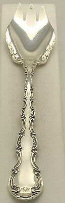 """Strasbourg By Gorham Sterling Silver Ice Cream Frok 5 5/8"""" No mono 12 Available"""