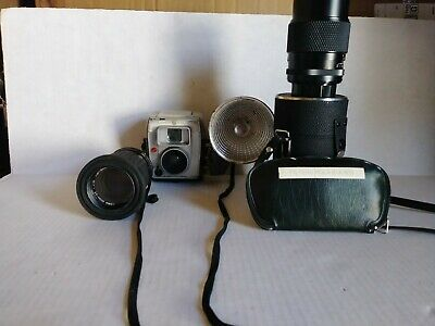 VINTAGE CAMERA, 2 Zoom Scopes And Color Lenses LOT