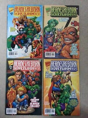 1ST PRINTING BAGGED /& BOARDED MARVEL HEROES REBORN 2000 YOUNG ALLIES #1