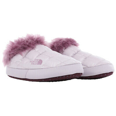 Ladies The North Face Thermoball Tent Mule IV Faux Fur Winter Slippers All Sizes
