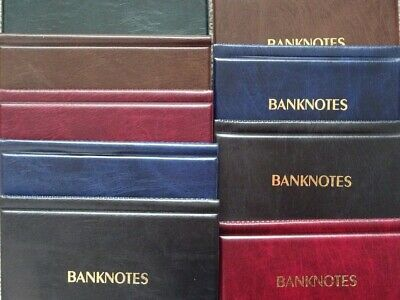 BANKNOTE ALBUM WALLET STORAGE BOOK ,FOLDER FOR BANKNOTES ( Big or Small )