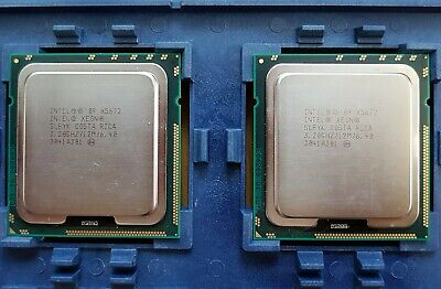 Intel CPU XEON X5672 QuadCore SLBYK - matched pair