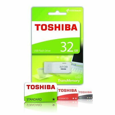 Toshiba 32GB USB 2.0 Flash Pen Drive Memory Stick UK Seller