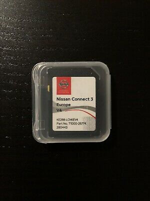 Nissan Connect 3 V4 Maps Latest Sat Nav Sd Card 2019/2020