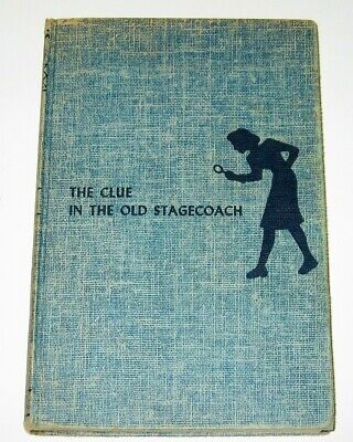 Nancy Drew #37 'The Clue in the Old Stagecoach' 1960