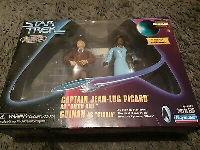 Star Trek Boxed Dixon Hill Guinan Holodeck Action Figures Series Toys