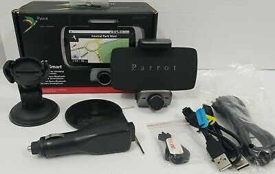 PARROT MINIKIT Smart Bluetooth Hands-Free Kit w/ Holder for Smartphone iPhone
