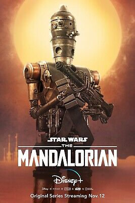 Star Wars The Mandalorian TV movie Poster #3 sizes 12x18 16x24 24x36 32x48