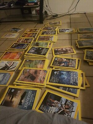 Lot 3 National Geographic Magazine Random Pick 1970s - 2018s No duplicate
