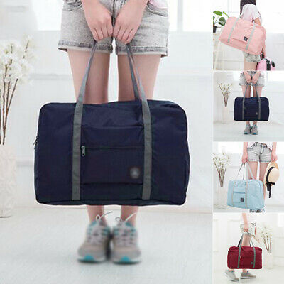 Portable Foldable Travel Luggage Storage Bag Shoulder Bag Duffle Bag Handbags