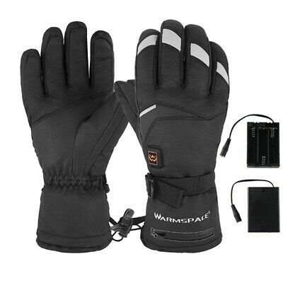 Winter Electric Thermal Gloves Waterproof Heated Gloves Touch Screen Motorcycles