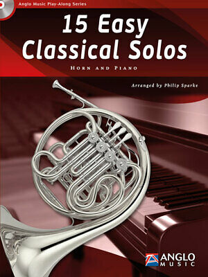 First Solos for the Horn Player French Horn and Piano Brass Method NEW 050332450