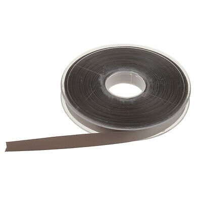 25 Meters Double Faced Sided Satin Ribbon Trims Reels 10mm -- Grey Color