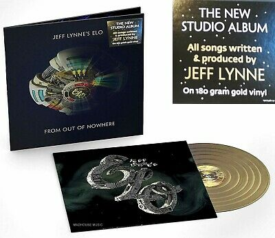 ELO LP From Out Of Nowhere 180 Gram GOLD VINYL LENTICULAR Slv 3-D E.L.O. IN STOC