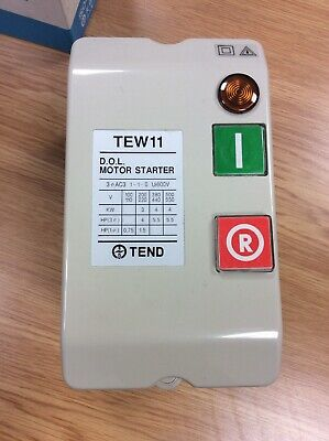New in original box   CED TEW 11 DOL Motor Starter  *** free postage***