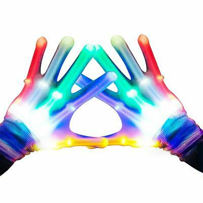 Easony Party Favors Cool Autistic Toys Boys Girls LED Gloves For 3-8 Years Old