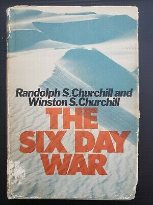 The Six Day War 1967 First Printing Hardcover By Randolph And Winston Churchill
