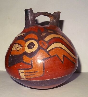 Vase Pre-colombian Nazca - Peru 200 ad - Pre-columbian - Hand Made in