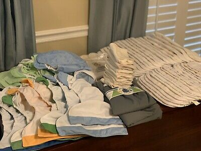 Lot of Bumgenius Diapers with LOTS of Extras