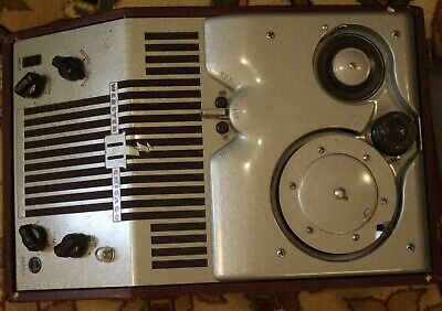 WEBSTER CHICAGO WIRE RECORDER Model 80; Wire; Reels; Microphone -TESTED-WORKING!