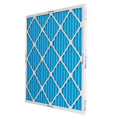 16x25x1 MERV 8 Pleated Home A/C Furnace Air Filter (12-pack)