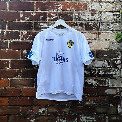 Leeds United FC 2010-11 Home Football Shirt Youth L