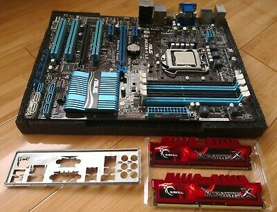 Intel I7 2700k (faster than 3770 & 2600k), 16gb DDR3 with ASUS motherboard