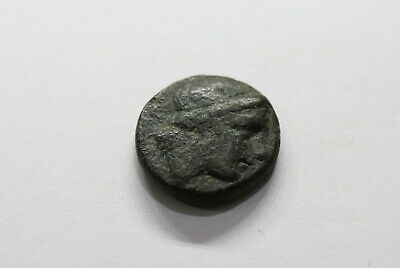 ANCIENT GREEK COIN WITH 4.54 Gr. NICE PORTRAIT B18 #9115