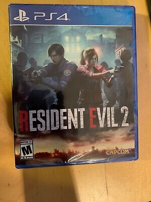 Resident Evil 2 Remake (Sony Playstation 4, PS4 2019) New (Free Shipping)