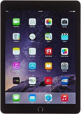 Apple iPad Air 2 32GB, Retina Wi-Fi only 9.7in Space Grey A Grade
