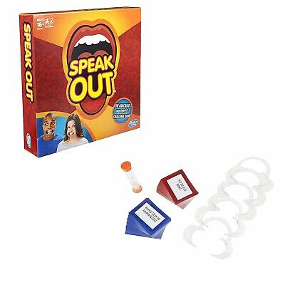 NEW Speak Out Board Family Party Game Mouthguard Challenge