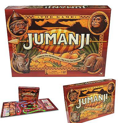 Cardinal Games 6040889 Jumanji Classic Retro '90S Board Game, Multicolour