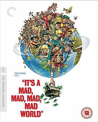 It's a Mad Mad Mad Mad World - The Criterion Collection New UK Region B Blu-ray