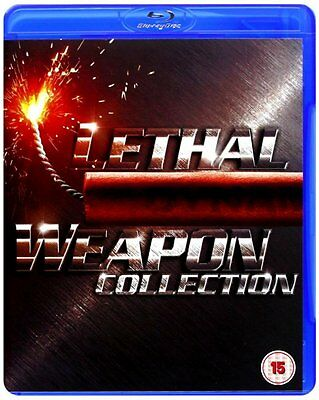 Lethal Weapon Series 1-4 Complete Movies 1 2 3 4 Collection BoxSet New UK BluRay