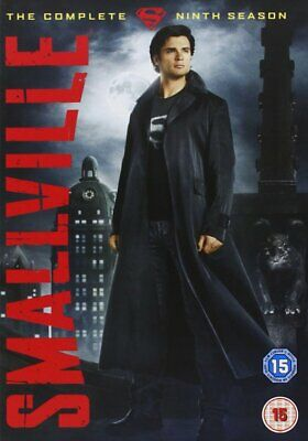 Smallville Complete Season 9 Ninth Series Tom Welling New Sealed Uk Region 2 Dvd