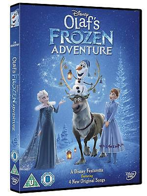 Olaf's Frozen Adventure - Walt Disney - BRAND NEW AND SEALED UK REGION 2 DVD PAL