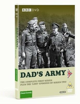 DAD'S ARMY - Complete First Series Plus the 'Lost' Episodes of Series Two UK DVD