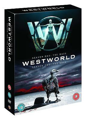 WESTWORLD Complete Seasons 1 & 2 Deluxe 6 Disc Box Set MAZE & ROAD SEALED DVD UK