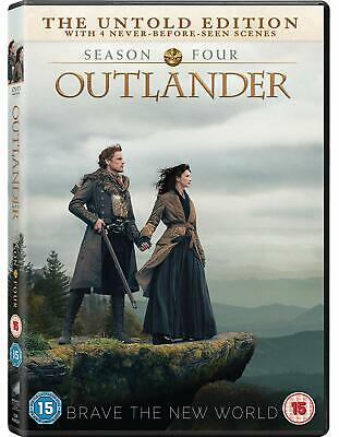OUTLANDER Complete Season 4 Fourth Serie The Untold Edition NEW REGION 2 DVD PAL